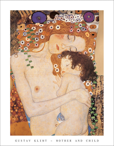 K603 - Klimt, Mother and Child, 22 x 28