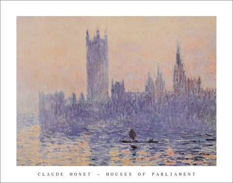 M134 - Monet - Houses of Parliament, 22 x 28