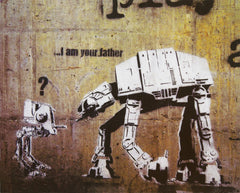 MP771 I am your father 16in x 20in