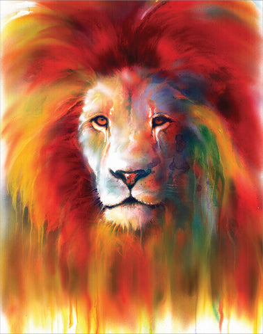 NY165 Lion Tears by Sophia 11x14