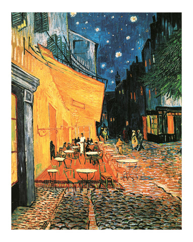 NY359 - Van Gogh - Cafe at Night, 16 x 20