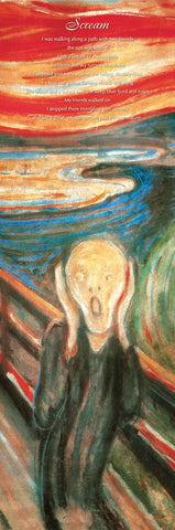 NY670 - Munch - The Scream, 12 x 36