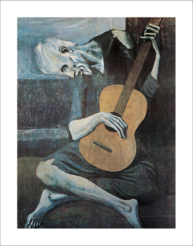 P120 - Picasso, Old Guitarist, 22 x 28
