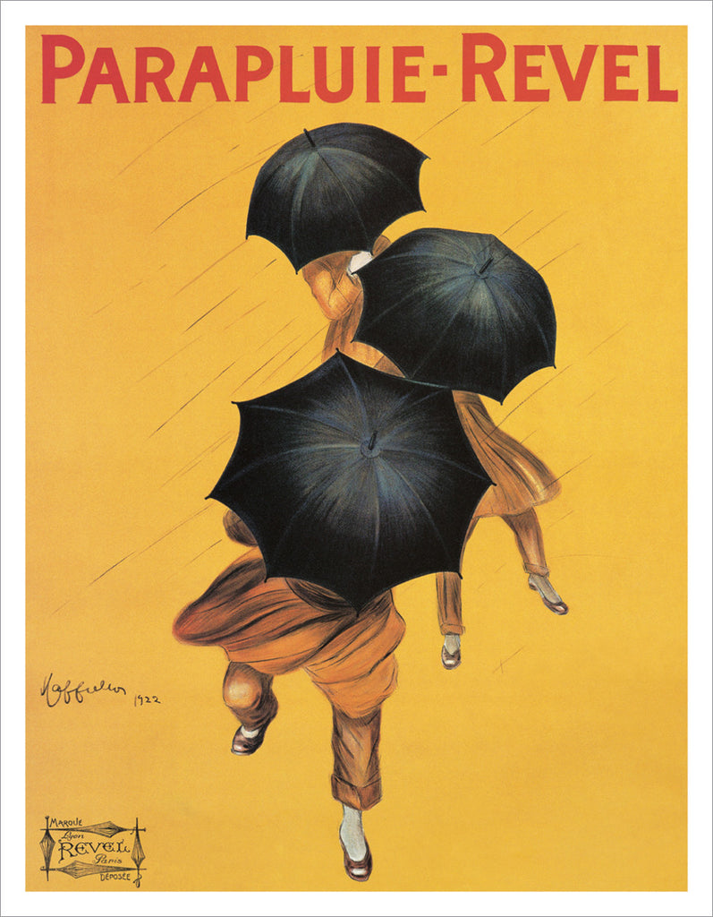 PC900 - Cappiello - Parapluie Revel, 1922,  11 x 14