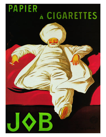 PC901 - Cappiello - Papier a Cigarettes - Job 1912, 11 x 14
