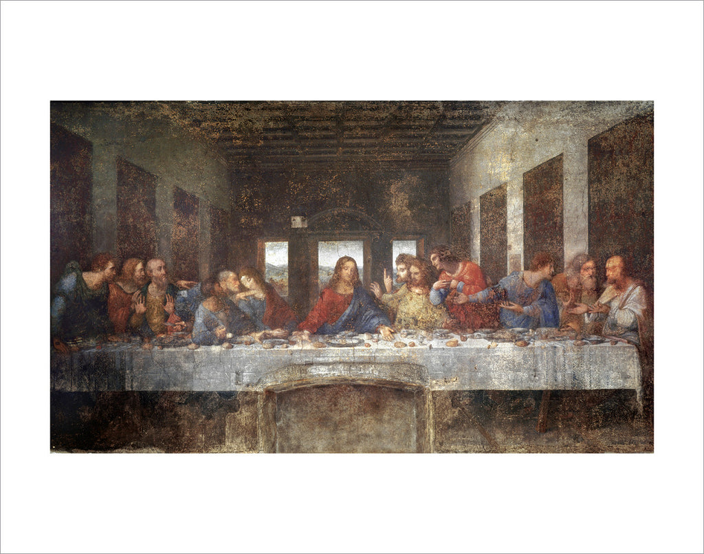 PD867 - Da Vinci - Last Supper, 11 x 14