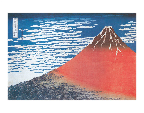 PH720 - Hokusai - Mount Fuji, 11 x 14