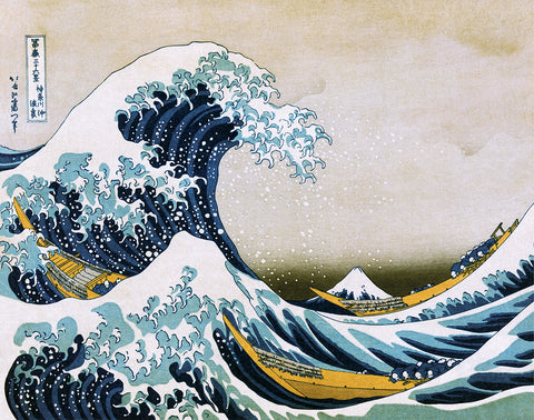 PH721 - Hokusai - The Great Wave 1830, 11 x 14