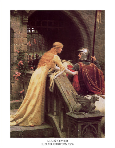 PL853 - Leighton - A Lady's Favor, 11 x 14