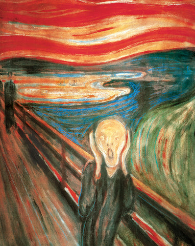 PM345 - Munch - The Scream 1893, 11 x 14