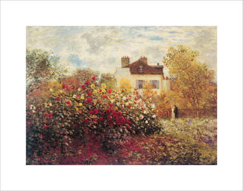 PM993 - Monet - Garden at Argenteuil, 11 x 14