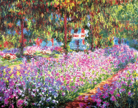 PM994 - Monet - Garden at Giverny, 11 x 14