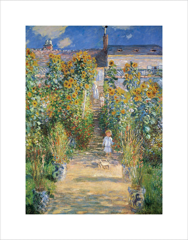 PM995 - Monet - Garden at Vetheuil, 11 x 14