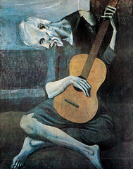 PP859 - Picasso, Old Guitarist, 11 x 14