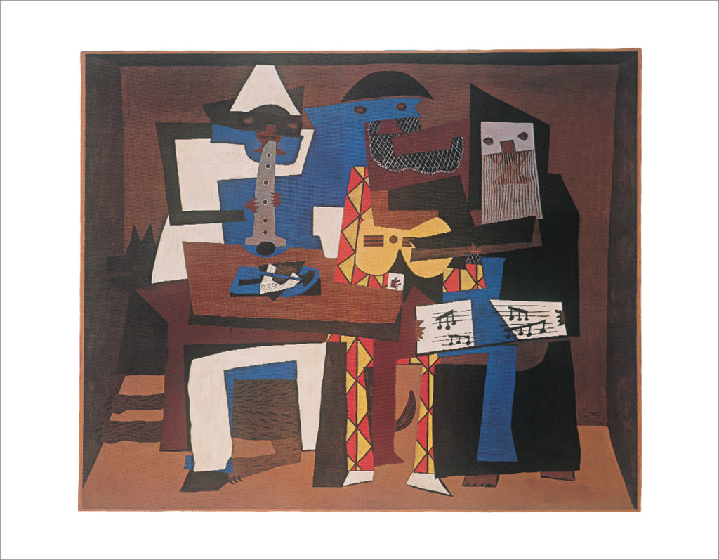 PP867 - Picasso, Three Musicians, 11 x 14