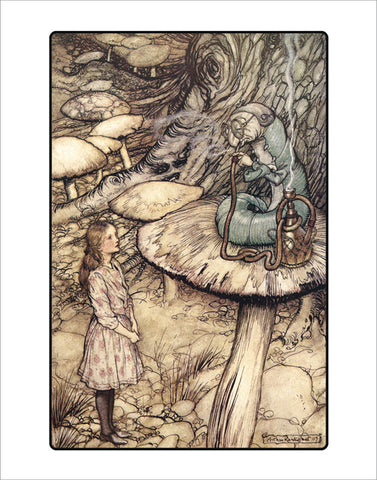 PR890 - Rackham, Advice from a Caterpillar, 11 x 14