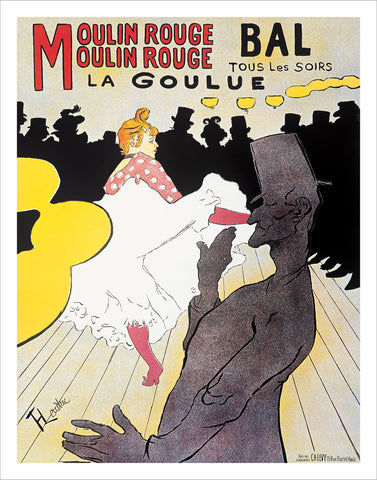 PT340 - Toulouse-Lautrec - Moulin Rouge, 11 x 14