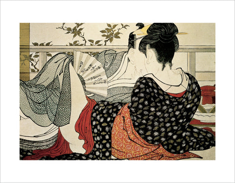 PU920 - Utamaro, The Lovers, 11 x 14