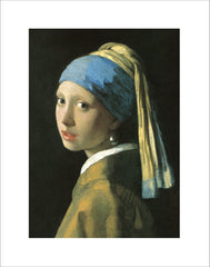 PV300 - Vermeer, Girl with a Pearl Earing, 11 x 14