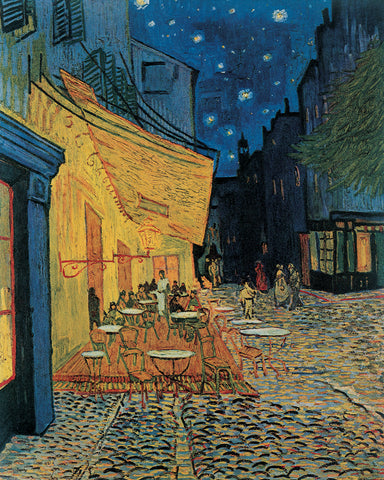 PV839 - Van Gogh, Cafe at Night, 11 x 14
