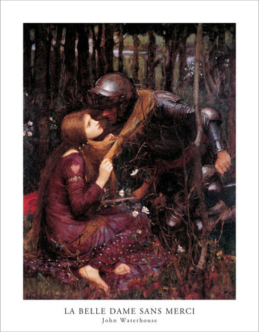 PW835 - Waterhouse, Sans Merci, 11 x 14