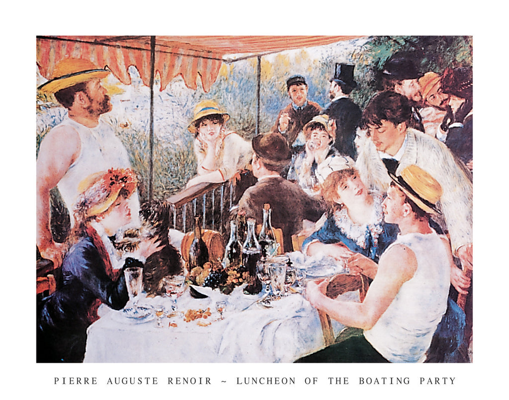 R121 - Renoir - Luncheon of the Boating Party, 22 x 28