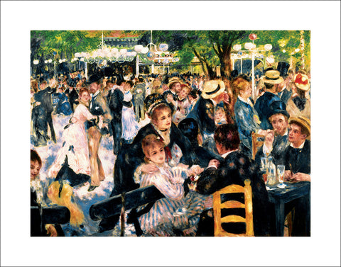 R123 - Renoir - Le Moulin de la Gallette, 22 x 28