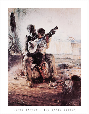 T102 - Tanner - The Banjo Lesson, 22 x 28
