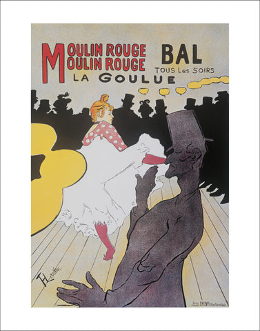 T108 - Toulouse-Latrec - Moulin Rouge, 22 x 28