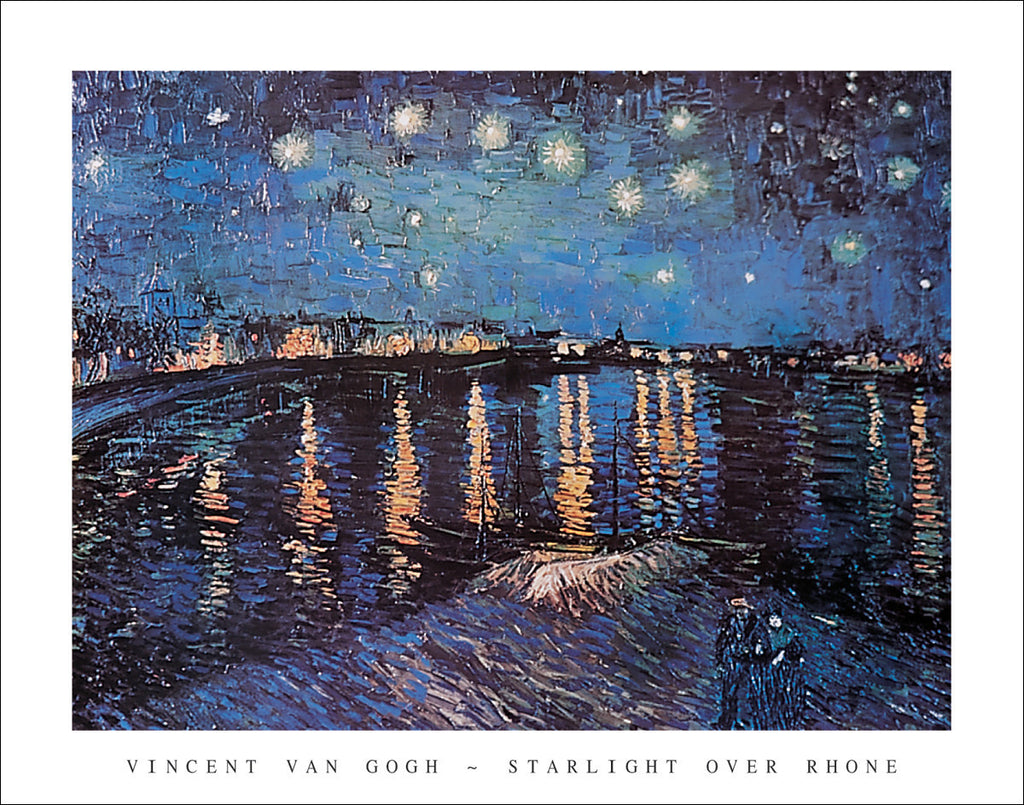 V112 - Van Gogh - Starlight over the Rhone, 22 x 28