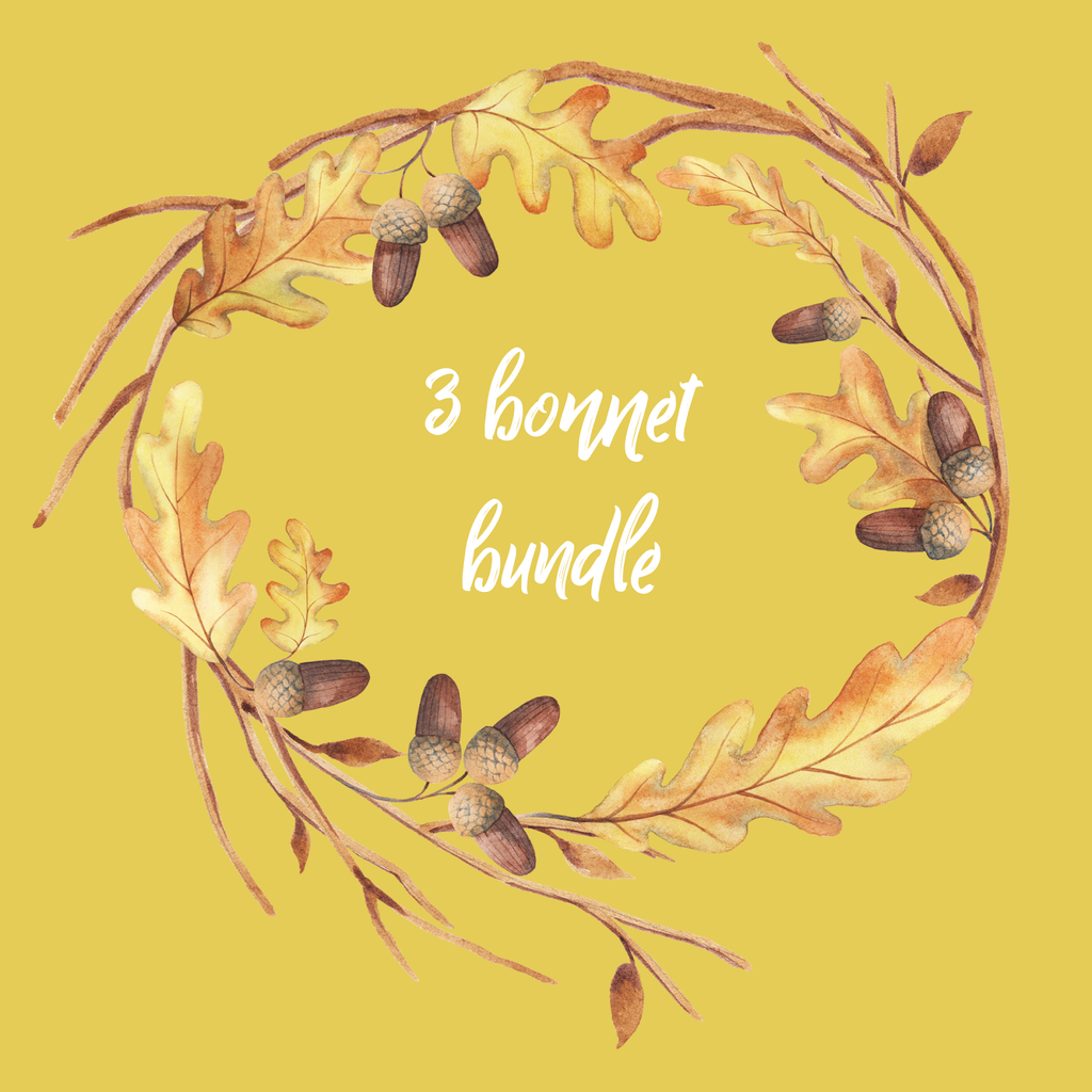 3 BONNET BUNDLE