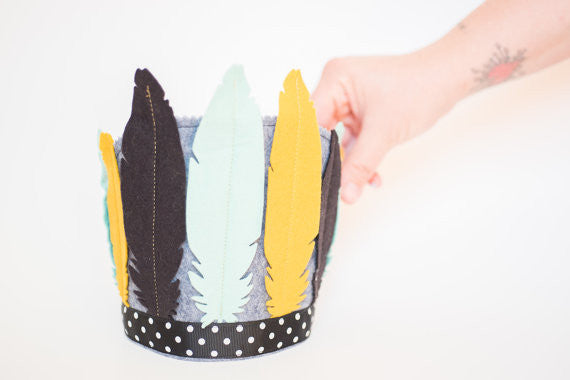 Wild One Feather Crown