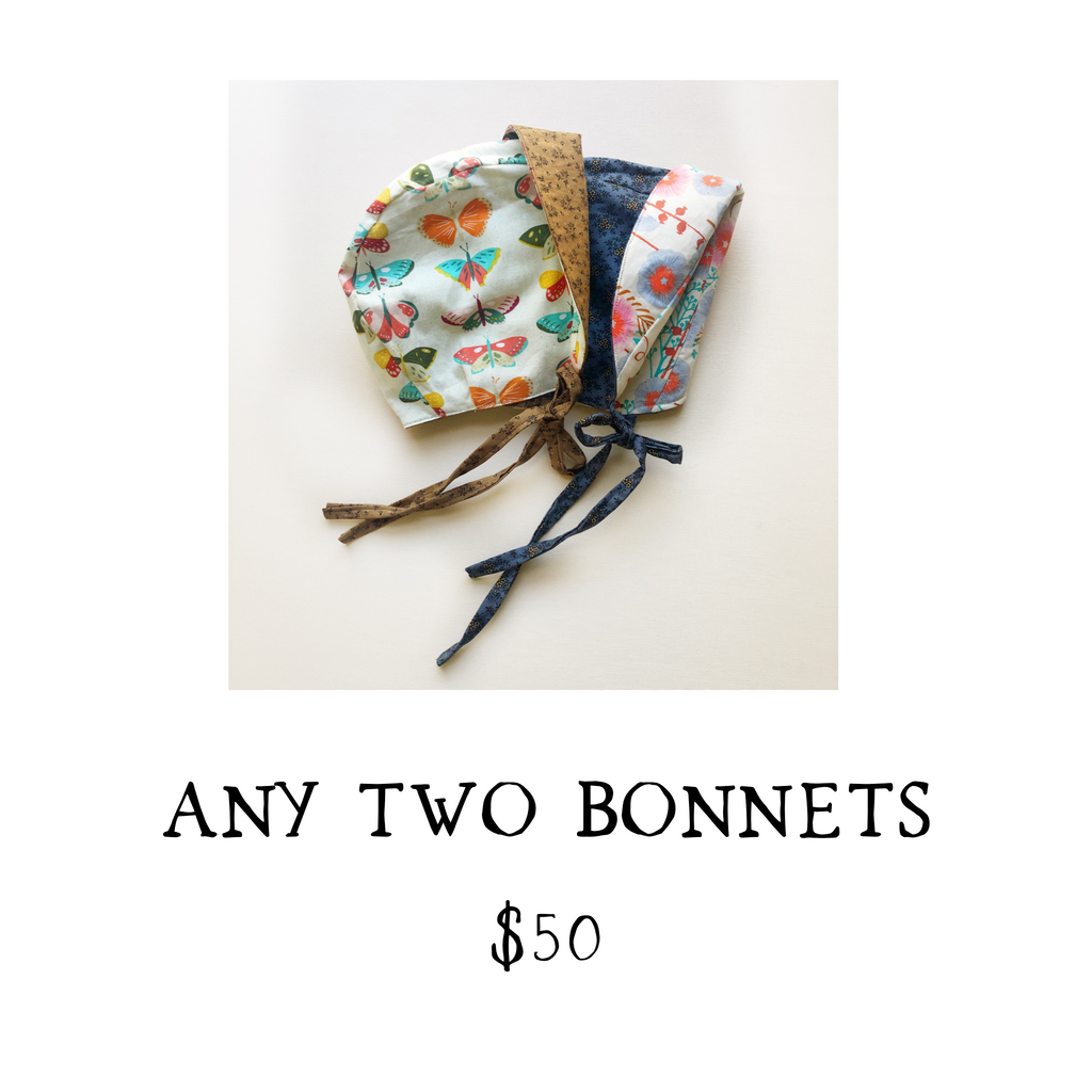 2 BONNET BUNDLE