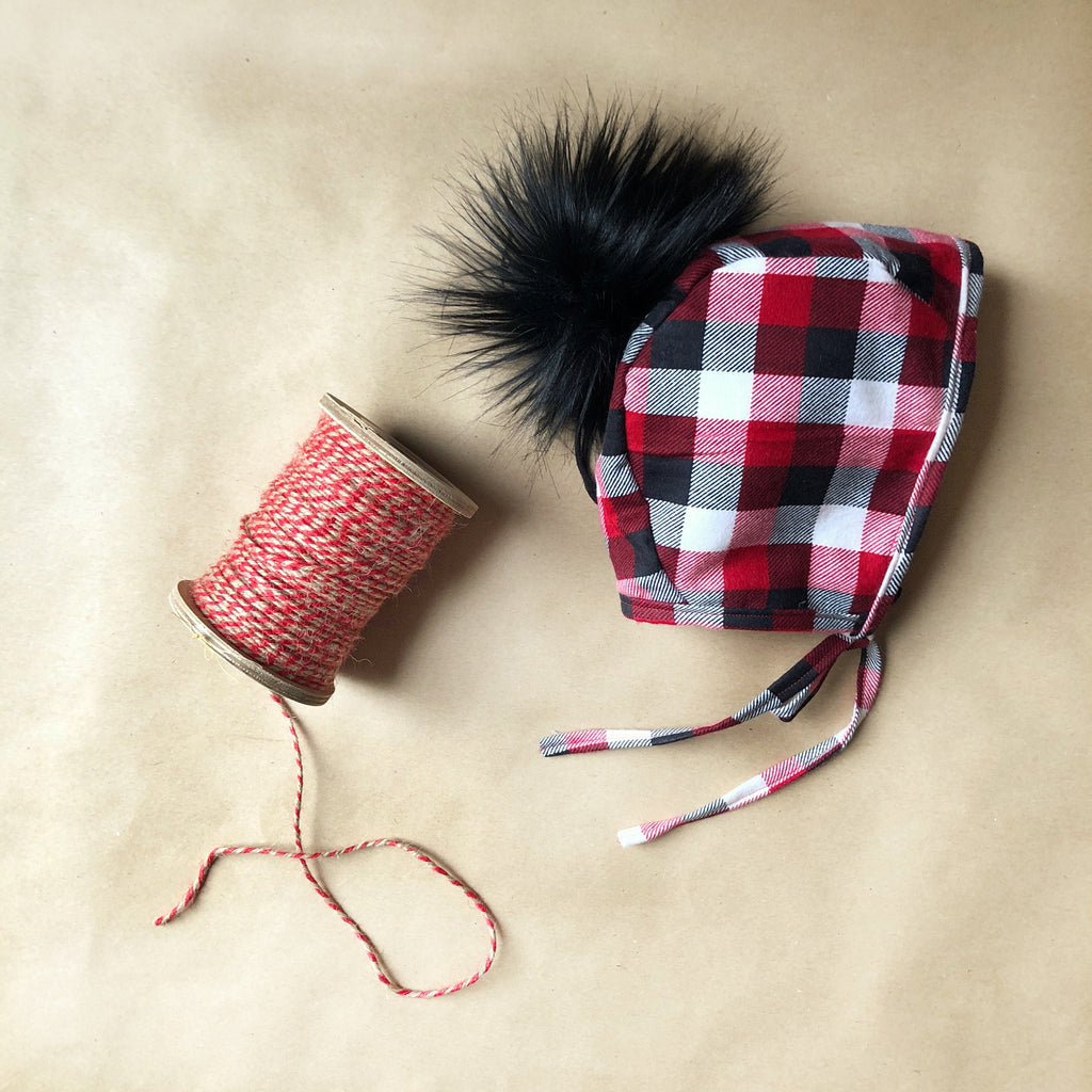 Red Ryder Flannel Bonnet