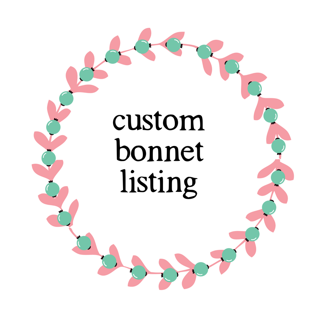 Custom Bonnet