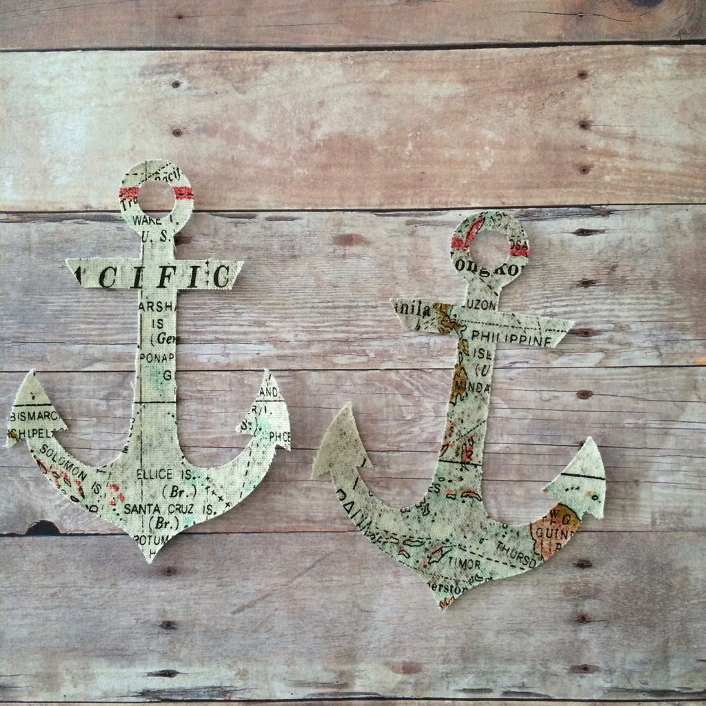 Anchor, Iron On, Applique, NatureCuts