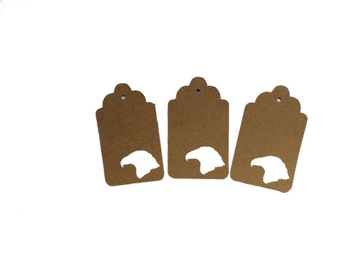 Bald Eagle Head Tags