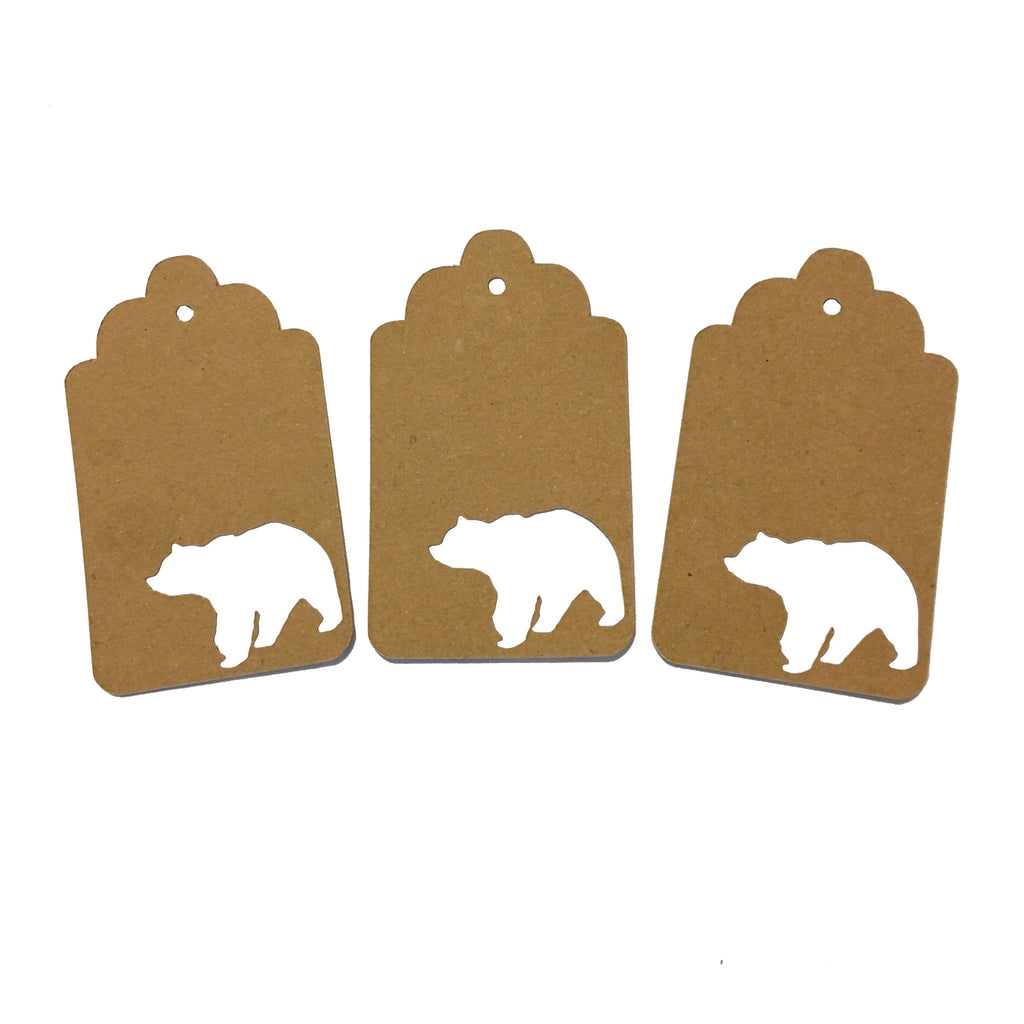 Bear, Animal, Tag, Gift Tag, NatureCuts