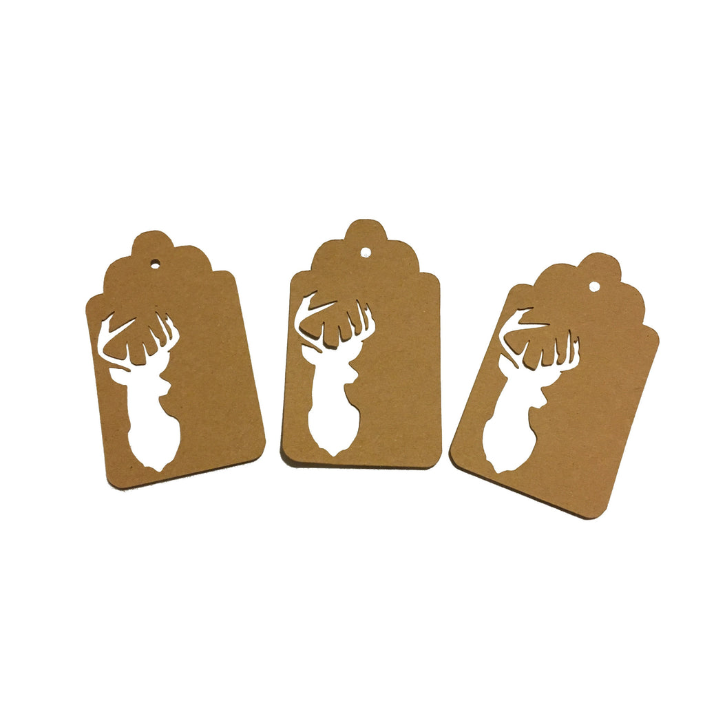 Buck, Deer, Gift Tags, Tags, NatureCuts