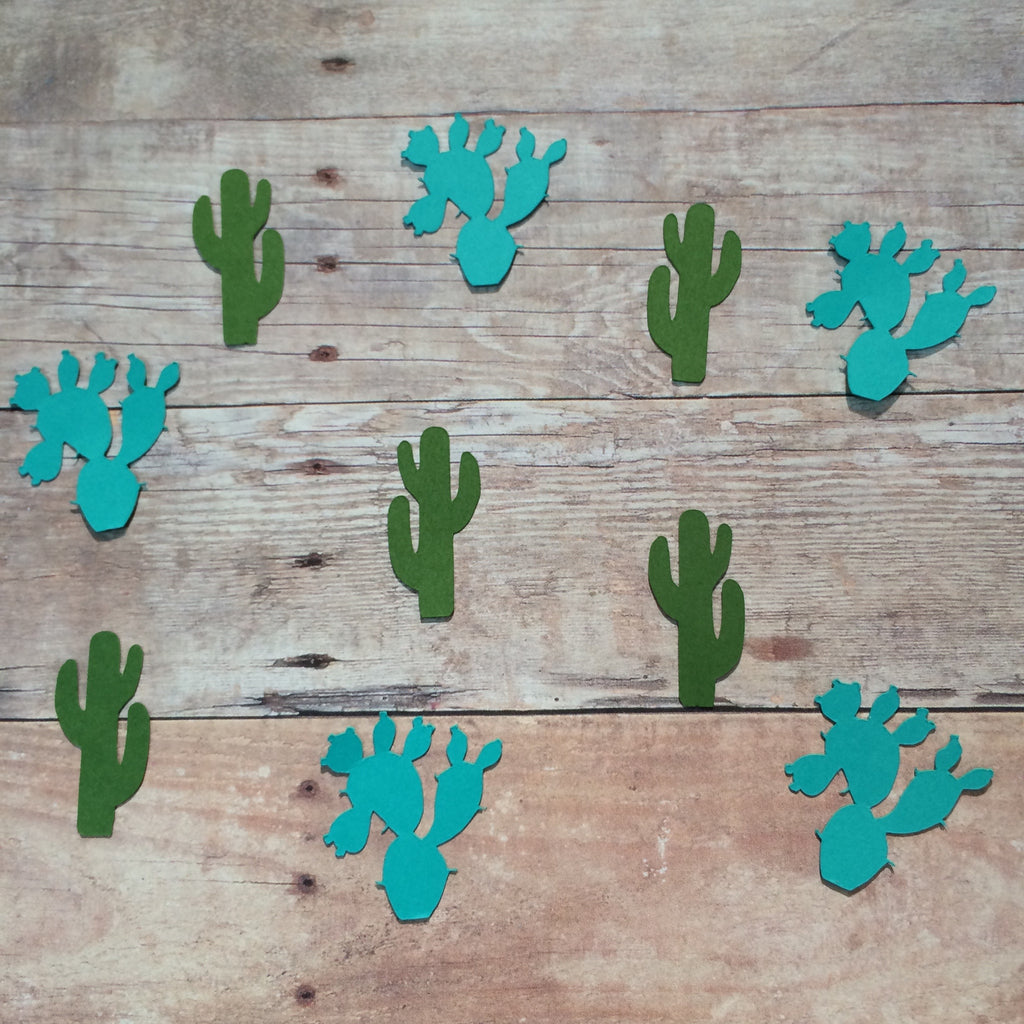 Cactus, Succulent, Confetti, Cut Out, NatureCuts