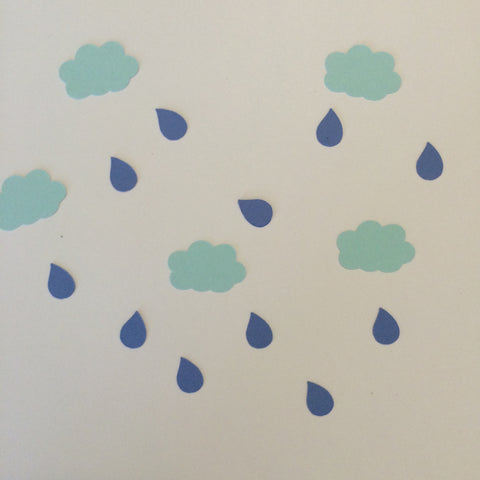 Cloud, Raindrop, Confetti, Party Supplies, NatureCuts