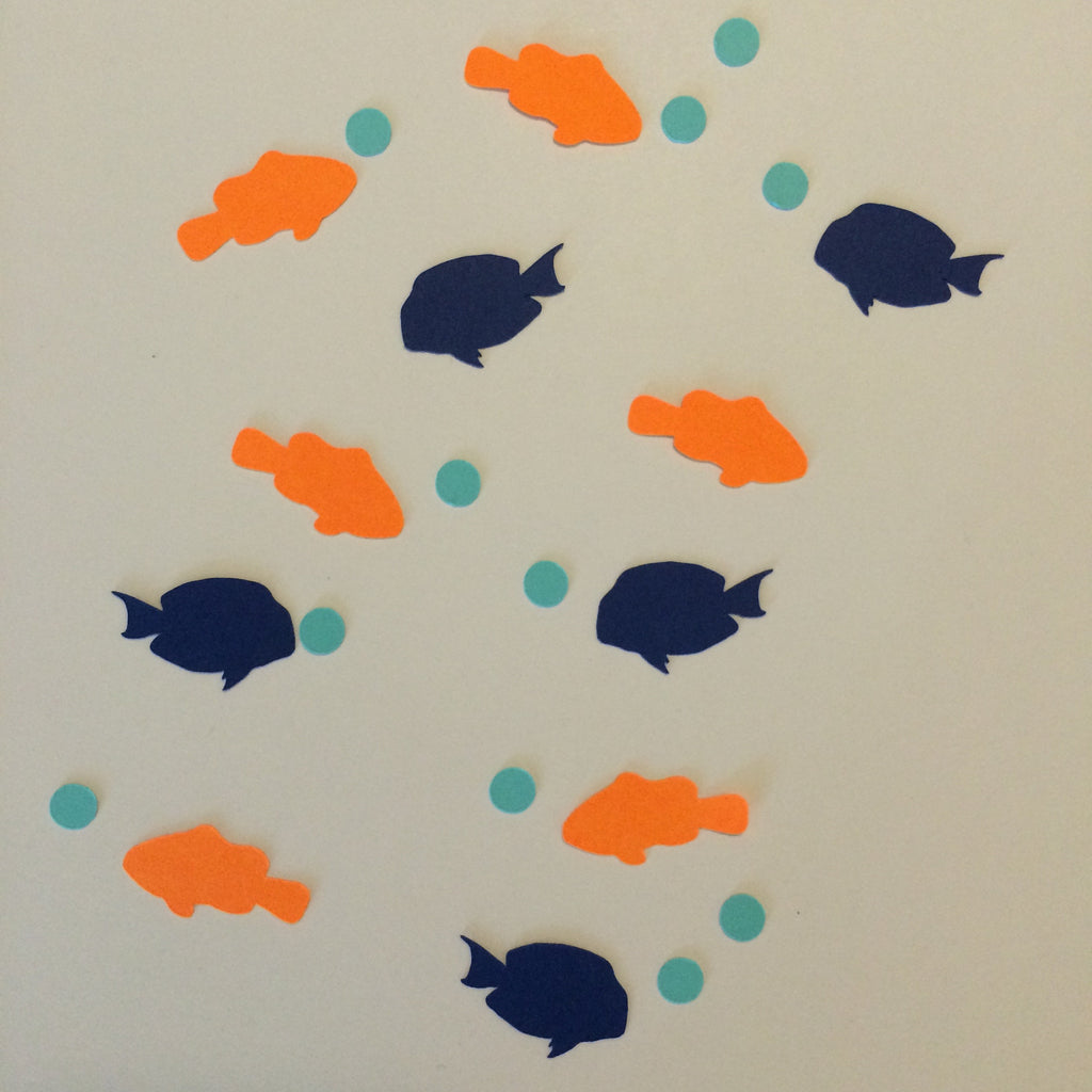 Clownfish, Tang, Bubbles, Confetti, Party Supplies, NatureCuts