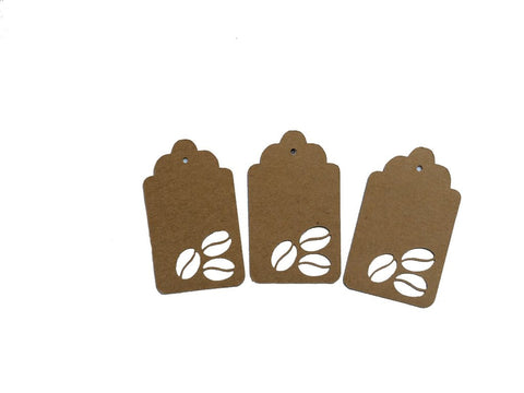 Coffee Bean Tags