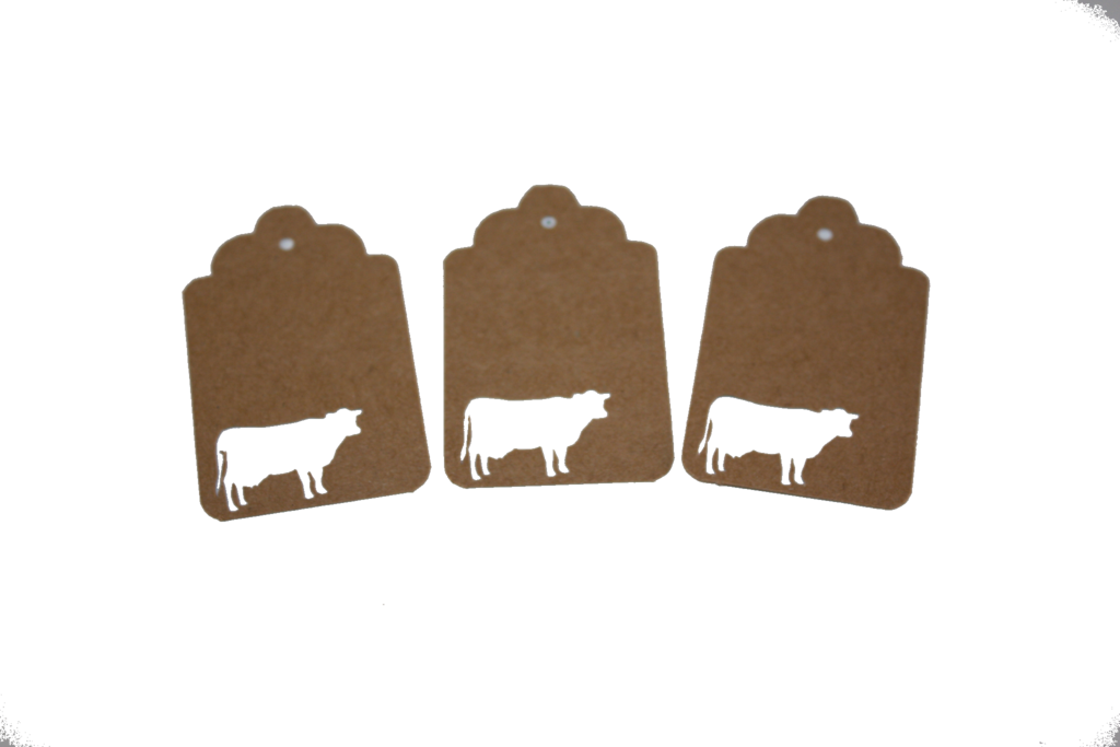Cow, Animal, Tag, Gift Tag, NatureCuts