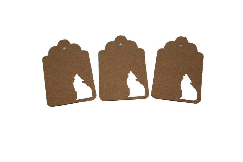 Coyote, Animal, Tag, Gift Tag, NatureCuts