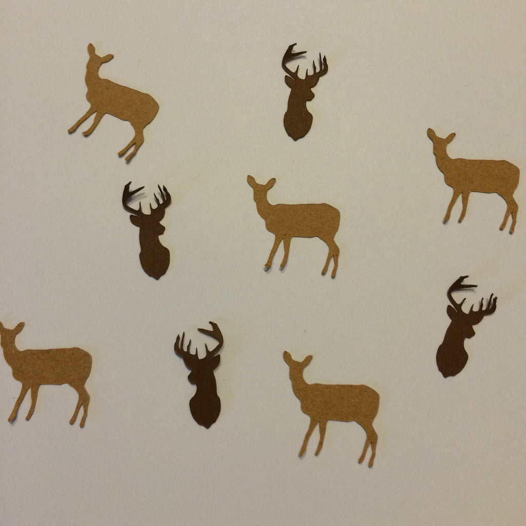 Deer, Buck, Confetti, NatureCuts