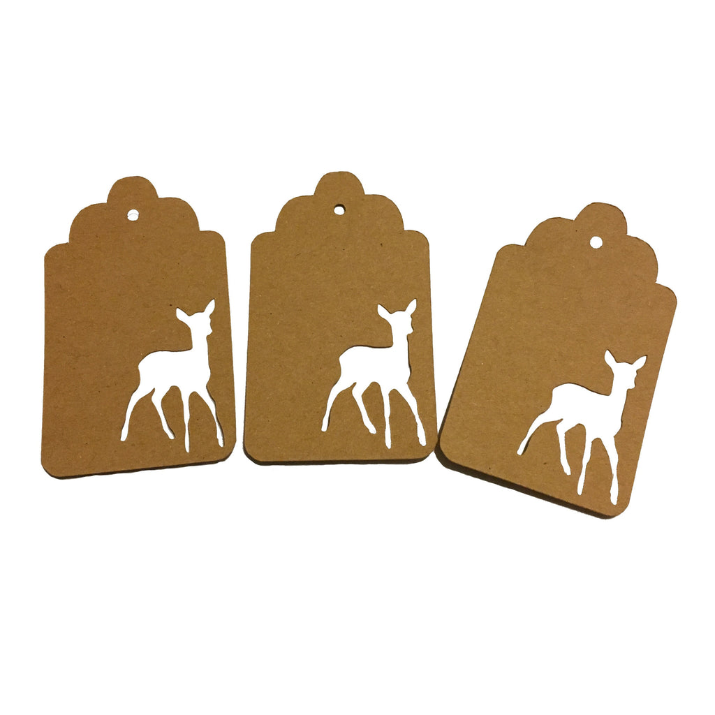 Reindeer, Deer, Gift Tags, Tag, NatureCuts
