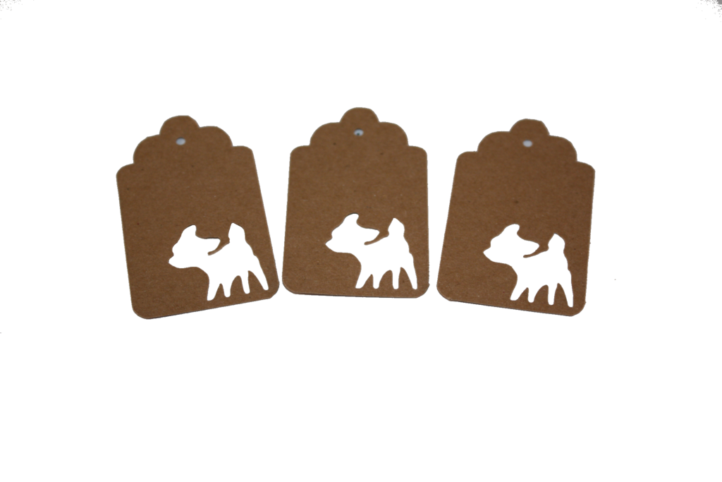 Fawn, Deer, Tag, Gift Tag, NatureCuts