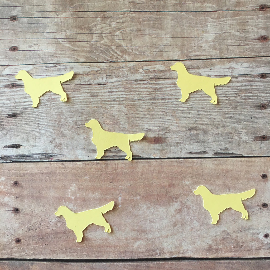 Golden Retriever Confetti