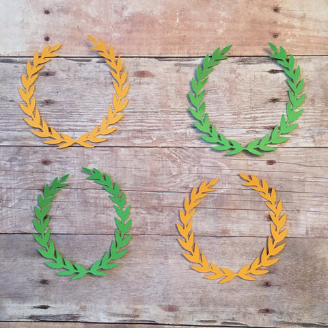 Laurel Wreath Confetti